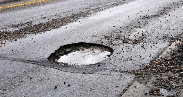 Driveway pothole repair near me